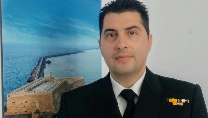 Νέος Κεντρικός Λιμενάρχης Ηρακλείου ο Αντιπλοίαρχος Λ.Σ. Ευθύμιος Δουβής