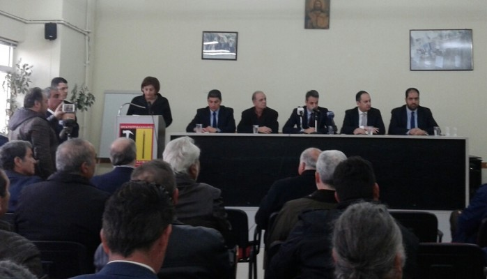 H Π. Πετράκη στη σύσκεψη Μητσοτάκη με φορείς του Λασιθίου