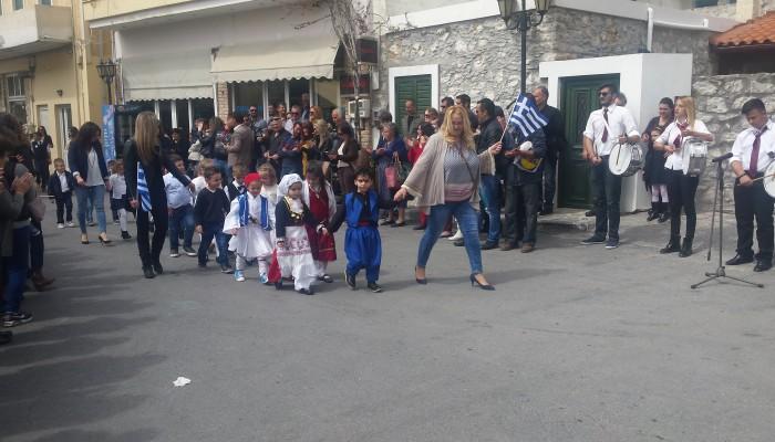 To πρόγραμμα εορτασμού της 25ης Μαρτίου στο δήμο Βιάννου