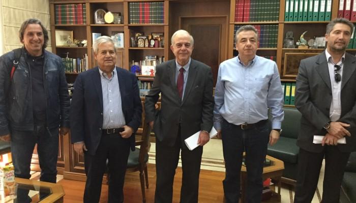 Συνάντηση Περιφερειάρχη με Δημάρχους Ηρακλείου και Μαλεβιζίου