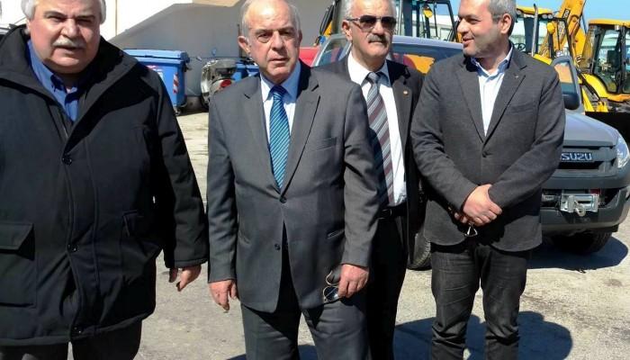 Τρία νέα οχήματα στον στόλο του Δήμου Ηρακλείου