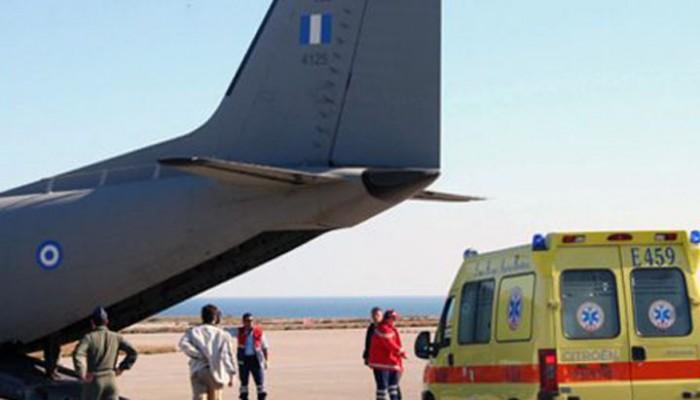 Επείγουσα αεροδιακομιδή βρέφους από την Κρήτη