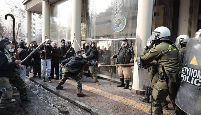 Ο Λευτέρης Αυγενάκης αναφορικά με τα επεισόδια των αγροτών στην Αθήνα