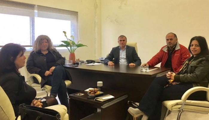 Συνάντηση Δημάρχου με τον νέο Αντιδήμαρχο Δημοτικής Ενότητας Μακρύ Γιαλού