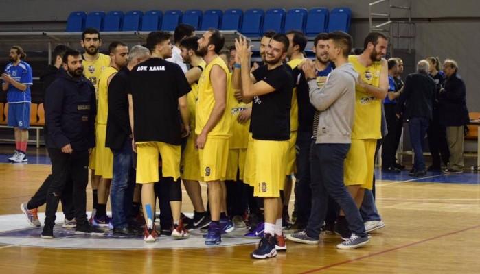 ΕΚΑΣΚ: Στον τελικό ο Κύδων, 2-1 ο ΑΟΚ Χανιά