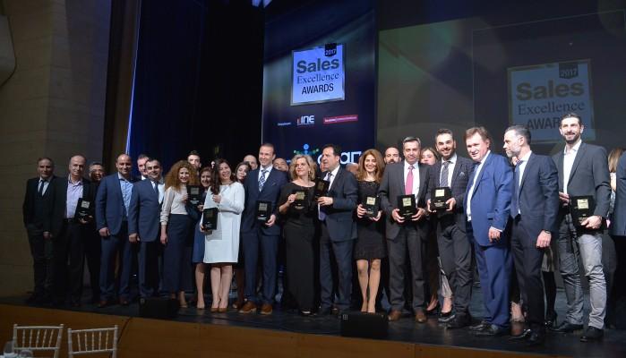 Η COSMOTE σάρωσε με 23 βραβεία στα Sales Excellence Awards 2017