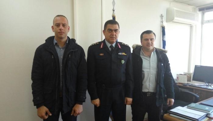 Η Ένωση Αξιωματικών Αστυνομίας Περιφέρειας Κρήτης στο Αρχηγείο της ΕΛ.ΑΣ