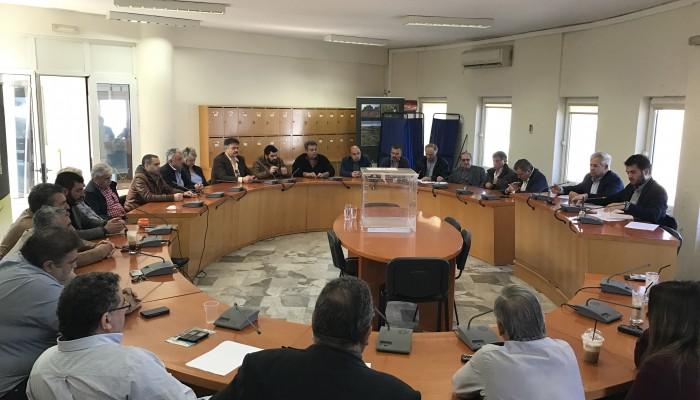 Ανάδειξη νέου προεδρείου στο δημοτικό συμβούλιο Μαλεβιζίου