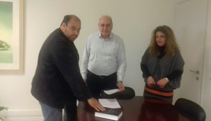 Ορκωμοσία μόνιμου δημοτικού υπαλλήλου στον Δήμο Βιάννου