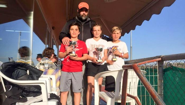 Τένις: Νικητής σε τρεις κατηγορίες ο ΟΑΧ