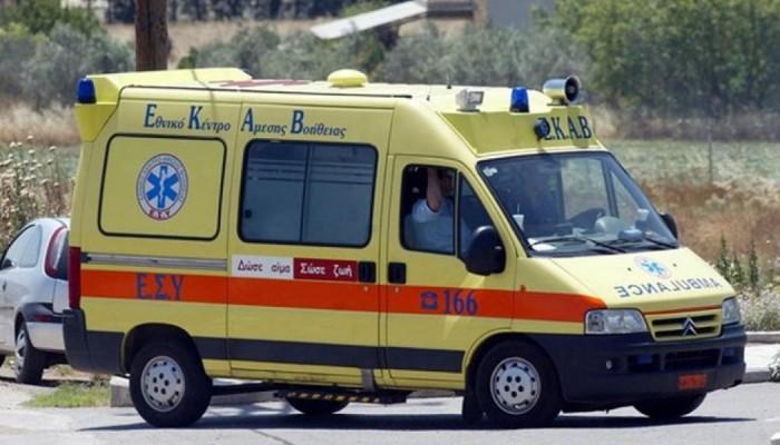 Τροχαίο ατύχημα με δύο τραυματίες στην Κρήτη