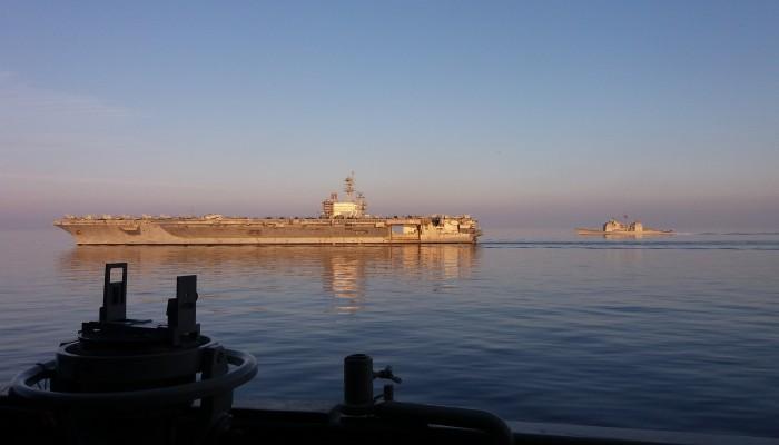 Συνεκπαίδευση του Πολεμικού Ναυτικού στο Κρητικό πέλαγος με τον