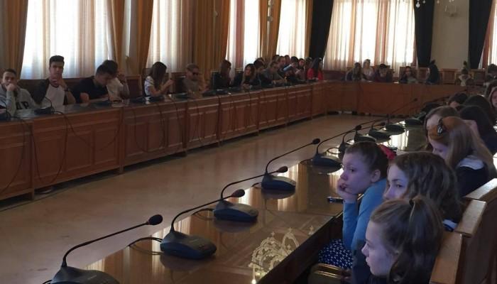 Μαθητές από το πρόγραμμα Erasmus επισκέφθηκαν τη Λότζια