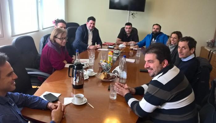 Με τη νέα ΔΕ του Τεχνικού Επιμελητηρίου συναντήθηκε ο πρόεδρος του ΕΒΕΧ