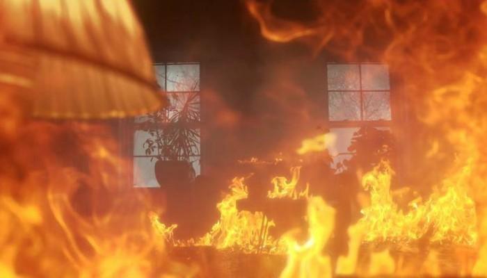 Ολοσχερώς κάηκε διαμέρισμα στο Ηράκλειο