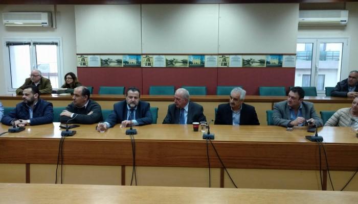 Αποφάσεις για το ΙΚΑ Ν. Αλικαρνασσού σε σύσκεψη στον Δήμο Ηρακλείου