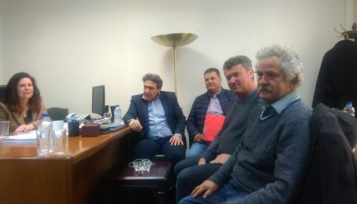 Συνάντηση εργασίας στο Υπ. Οικονομικών με εκπροσώπους ομάδων παραγωγών