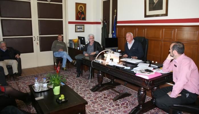 Συνάντηση για την Λιμνοδεξαμενή Πλατάνου στη θέση Χαλάρια-Ξηροκάμπι