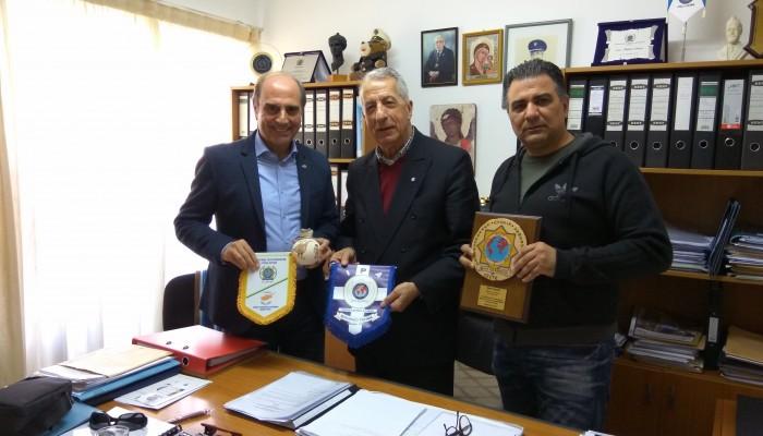Την Κύπρο επισκέφτηκε ο Ιωάννης Περράκης