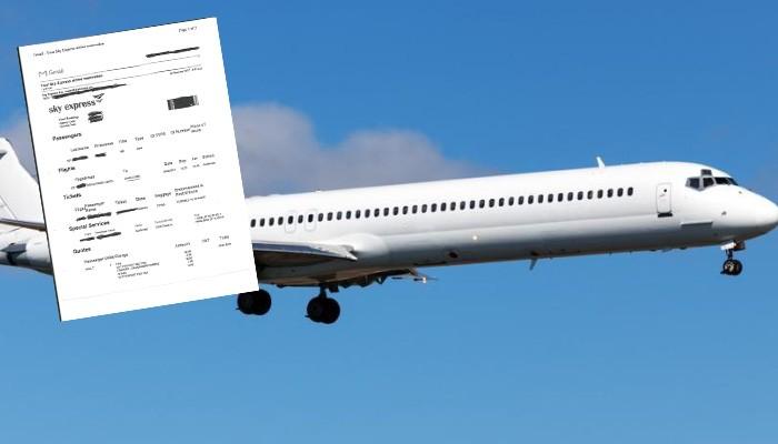 Άρχισαν ήδη να χρεώνονται στα εισιτήρια οι φόροι υπερ Fraport; (φωτο)