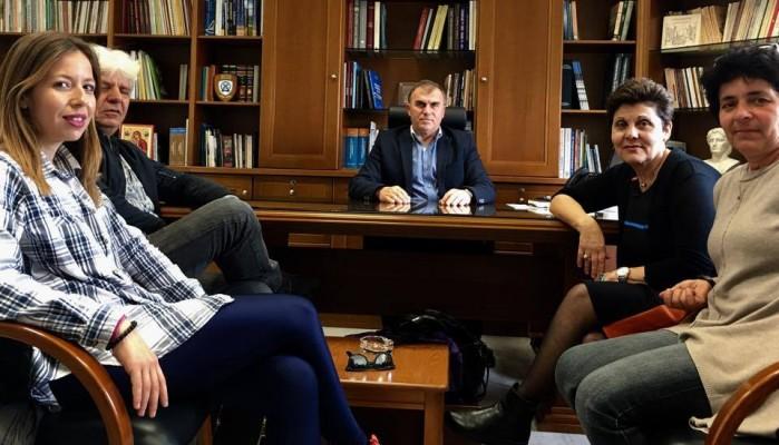 Με το νέο Δ.Σ του Πολιτιστικού Συλλόγου Βαϊνιάς ο Δήμαρχος Ιεράπετρας