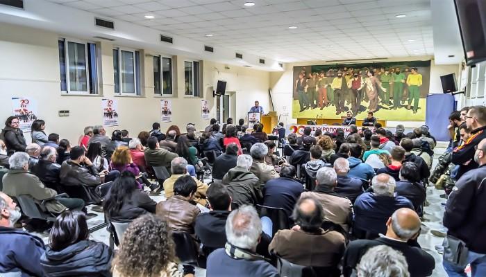 Η πολιτική εκδήλωση στα Χανιά εν όψει του 20ου συνεδρίου του ΚΚΕ