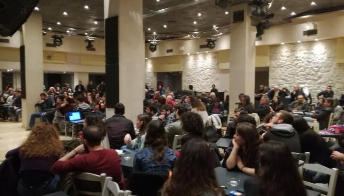 Με επιτυχία η κεντρική πολιτική εκδήλωση της Τ.Ε Ηρακλείου του ΚΚΕ