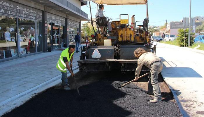 Ολοκληρώθηκε το έργο αποχέτευσης ομβρίων υδάτων στην περιοχή του Κλαδισού