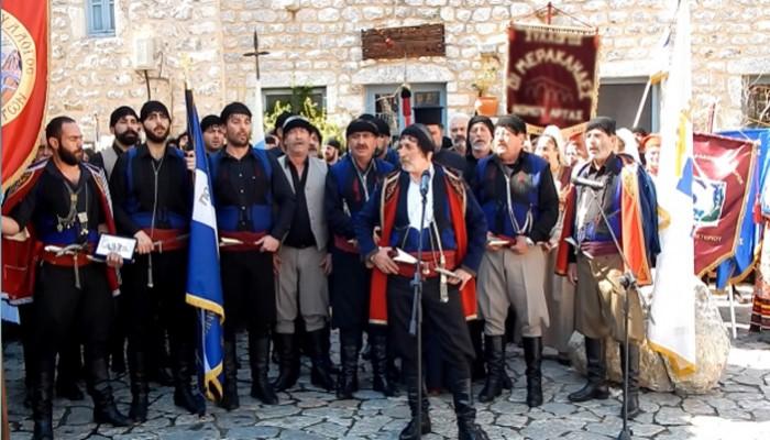 Όταν βροντά ο Ταϋγετος, γροικά ο Ψηλορείτης - Πώς τίμησαν τη Μάνη οι Κρήτες