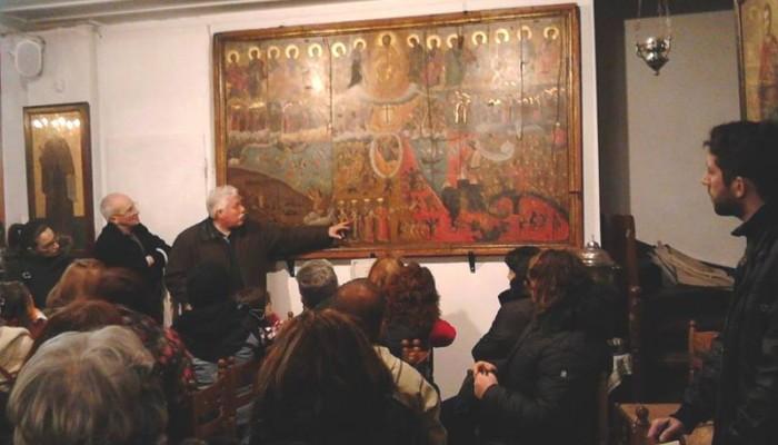 Η ξενάγηση στα λατρευτικά μνημεία της παλιάς πόλης των Χανίων