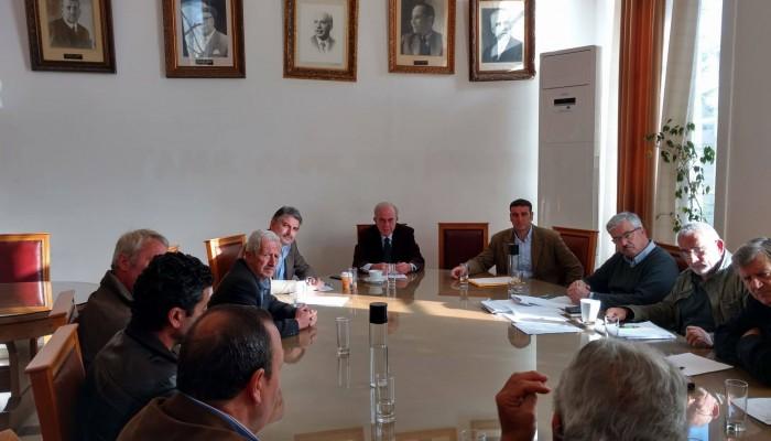 Συνάντηση του Δημάρχου Ηρακλείου με εκπροσώπους του Αγίου Μύρωνα