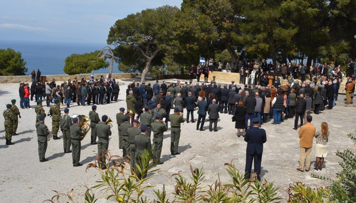 Το ετήσιο πολιτικό μνημόσυνο στους Τάφους των Βενιζέλων