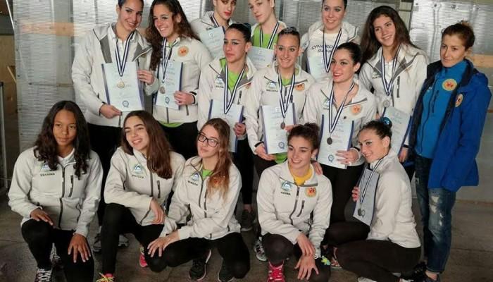 ΝΟΧ: Δεύτερες στην Ελλάδα οι Νεανίδες της Συγχρονισμένης