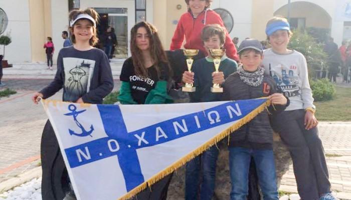 ΝΟΧ: Τρία παιδιά στην Προεθνική Ομάδα ιστιοπλοΐας