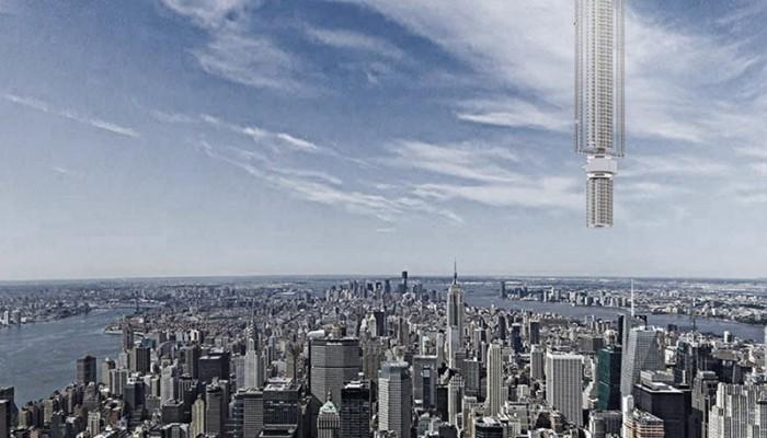 Δείτε τον ουρανοξύστη που θα κρέμεται από αστεροειδή στη Γη (βιντεο)