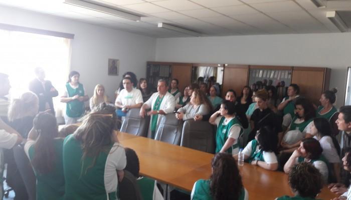 ΠΑΓΝΗ: Σύσκεψη για τη νέα σύμβαση των εργαζομένων σε καθαριότητα και σίτιση