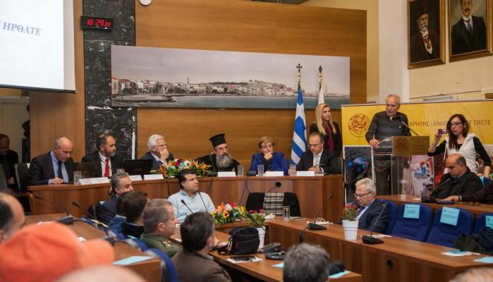 Εκδήλωση για τον δημόσιο απολογισμό και την προοπτική του Παν/μίου Κρήτης