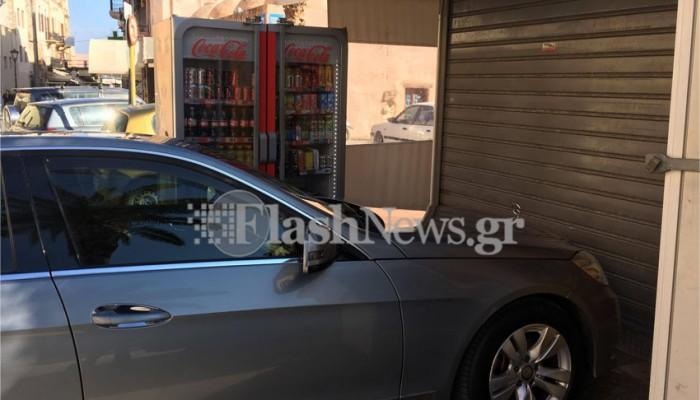 Χανιά: Πάρκαρε μπροστά από το περίπτερο της και δεν μπορούσε να το ανοίξει!