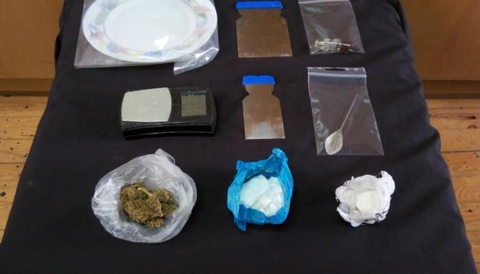 Κοκαΐνη, μεθαμφεταμίνη και κάνναβη στην κατοχή ενός Ρεθυμνιώτη!