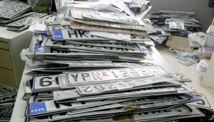 Ηράκλειο: Επιστρέφονται οι πινακίδες κυκλοφορίας ενόψει Δεκαπενταύγουστου
