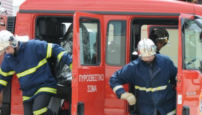 Πυρκαγιά σε συνεργείο αυτοκινήτων στις Μουρνιές