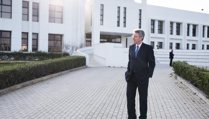 Στο ΙΤΕ ξεναγήθηκε ο Πρέσβης των ΗΠΑ στην Ελλάδα