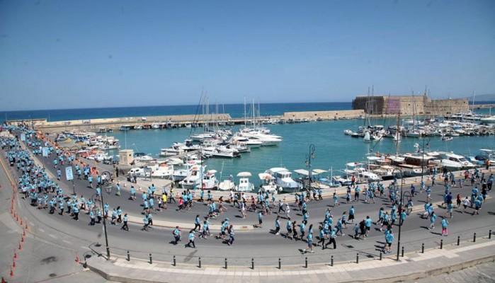 Έφτασαν τις 3.300 οι εγραφές στο Run Greece Hράκλειο
