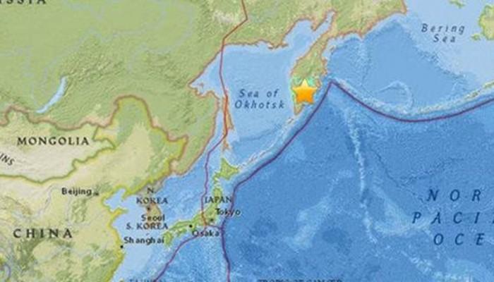Ρωσία: Ισχυρός σεισμός 6,9 Ρίχτερ στη Βερίγγειο θάλασσα