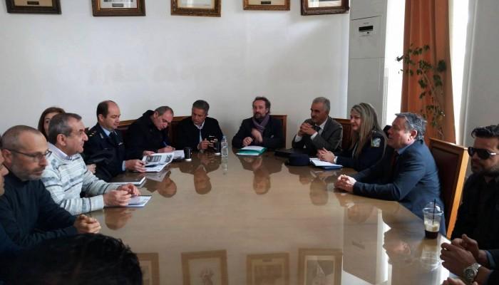 Σύσκεψη για την ασφάλεια & την κυκλοφορία ενόψει νέας τουριστικής περιόδου