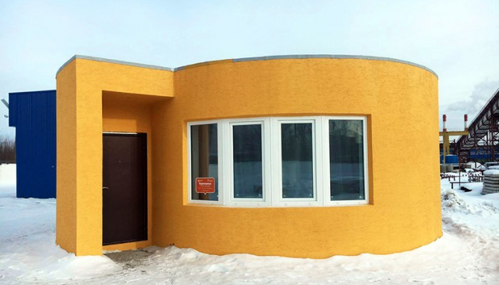 Σπίτι σχεδόν εξ ολοκλήρου από 3D εκτυπωτή κατασκευάστηκε σε 24 ώρες