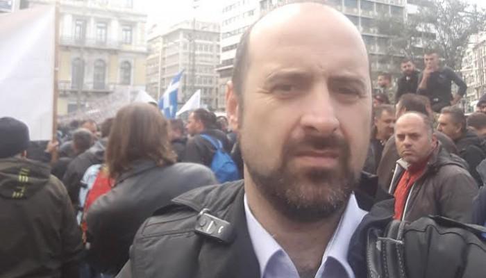 Και ο δήμαρχος Κισσάμου στο συλλαλητήριο αγροτών στην Αθήνα
