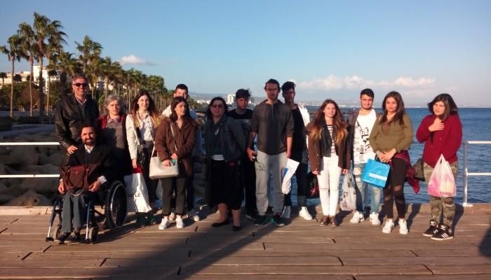 Επίσκεψη ΓΕΛ Βουκολιών στην Κύπρο