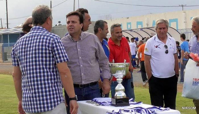 Σύνδεσμος Διαιτητών: Συλλυπητήρια σε Συριγωνάκη