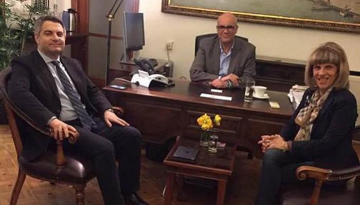 Συναντήθηκαν δήμαρχος Χανίων με Οδυσσέα Κωνσταντινόπουλο